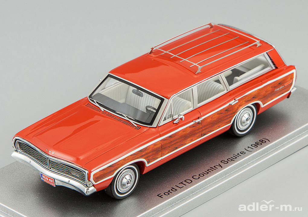 KESS SCALE MODELS 1:43 Ford Country Squire Station Wagon 1968 (red) KE43015001