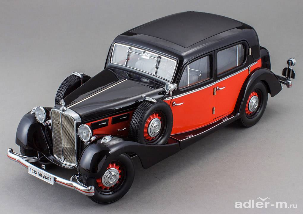 SIGNATURE 1:18 Maybach SW35 4-doors 1935 (red / black) PM-38208-1