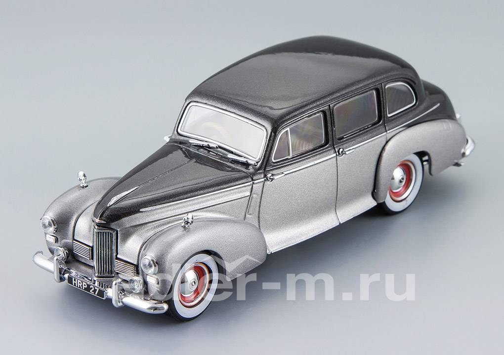 OXFORD 1:43 Humber Pullman Limousine 1953 (black pearl/shell grey) HPL002