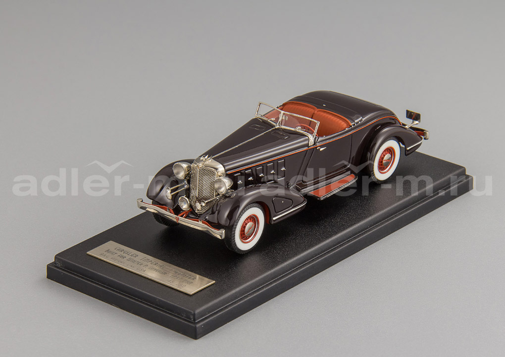 EMC (В. ПИВТОРАК) 1:43 Chrysler Imperial Speedster 1932 B&G HL-4