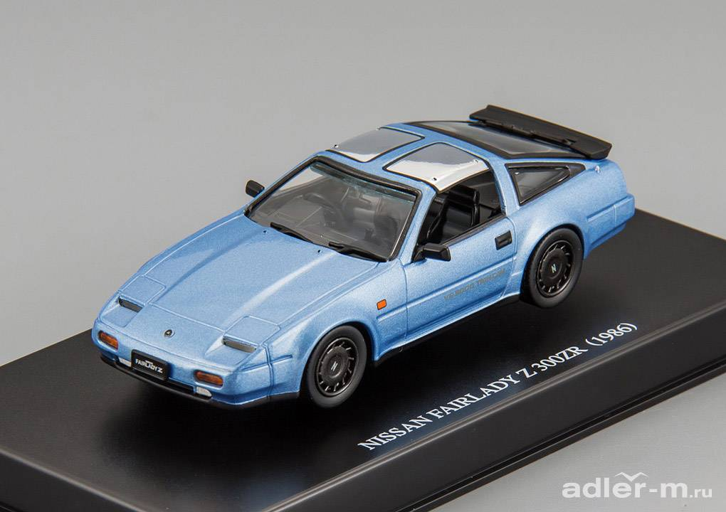 AOSHIMA 1:43 Nissan Fairlady Z 300ZR Z31 1986 (light blue metallic) 78020