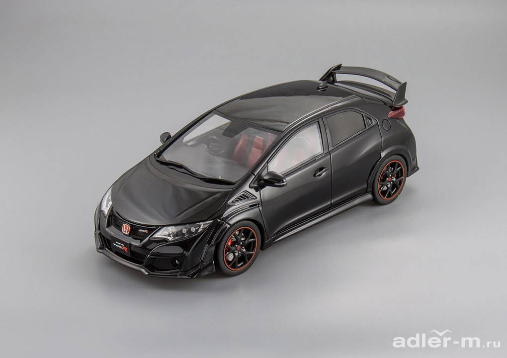 Honda 1:18 Honda Civic Type R (black) KSR18022BK