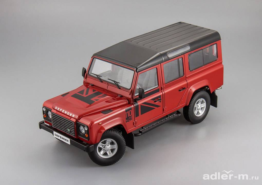 Land Rover 1:18 Land Rover Defender 110 (red) DLLR-1000D